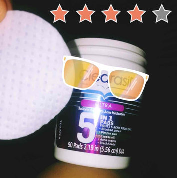Clearasil® Ultra 5-in-1 Acne Medication Pads uploaded by Suzette A.