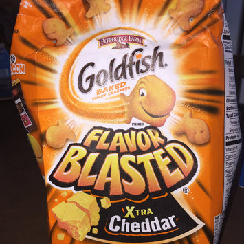 Photo of Goldfish® Flavor Blasted Xtra Cheddar Baked Snack Crackers uploaded by Mago B.