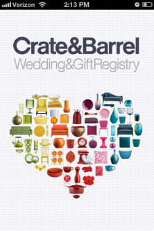 Photo of Crate & Barrel Wedding and Gift Registry uploaded by Katy E.