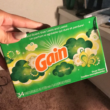 Photo of Gain® Original Fabric Softener Sheets 34 ct Box uploaded by Glory M.