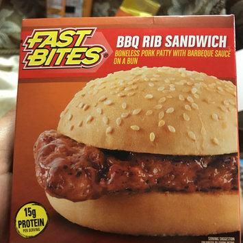 Photo of Fast Bites BBQ Rib Sandwich 5.5 oz. Box uploaded by Jennifer D.