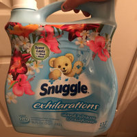 Snuggle® Exhilarations® Island Hibiscus & Rainflower™ 96 Loads Concentrated Fabric Softener 96 fl. oz. Jug uploaded by Flor l.