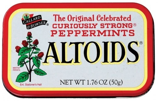 Altoids Cinnamon Mints uploaded by Rosy M.