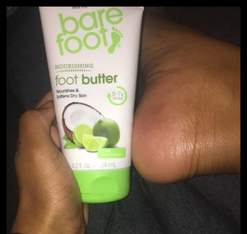 Freeman Bare Foot Butter Cream, Lime + Coconut, 4.2 fl oz uploaded by Kaitlyn C.