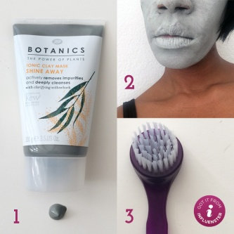 Boots Botanics Shine Away Ionic Clay Mask uploaded by Jeanee W.