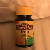 Nature Made Iron Tablets uploaded by Kelsey G.