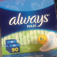 Always Maxi Size 2 Long Super Pads With Wings Unscented uploaded by Michelle T.