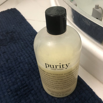 Photo of philosophy purity made simple one-step facial cleanser uploaded by Carrie L.