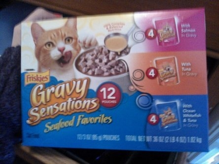 Friskies  Gravy Sensations Cat Food uploaded by suzanne s.
