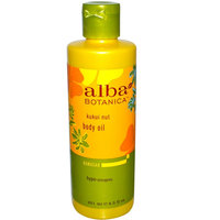 Alba Botanica Hawaiian Body Oil Deep Moisturizing Kukui Nut uploaded by Hadley W.