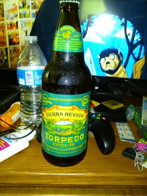 Sierra Nevada Torpedo Extra IPA Beer uploaded by Jessica s.