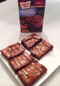 Photo of Duncan Hines Decadent Brownie Mix Salted Caramel uploaded by Manda D.
