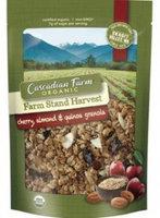 Cascadian Farm Organic Farm Stand Harvest Cherry Almond & Quinoa Granola uploaded by Libbie K.