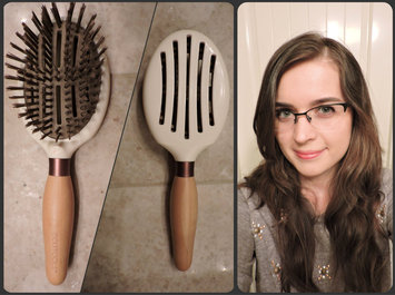 Photo of ECOTOOLS SLEEK + SHINE FINISHER HAIR BRUSH uploaded by Adriana C.
