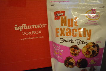 FISHER NUT EXACTLY® Snack Bites - Almond Popcorn dipped in Milk Chocolate uploaded by Michelle N.