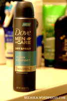 Dove Men+Care Clean Comfort Dry Spray Antiperspirant uploaded by Diana B.