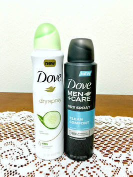 Photo of Dove Men+Care Clean Comfort Dry Spray Antiperspirant uploaded by Rechael R.