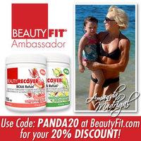 BEAUTY FIT BeautyFit BeautyRecover, BCCA Refuel For Women, Kiwi Strawberry, 314 grams uploaded by Amanda M.