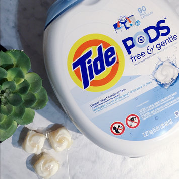 Photo of Tide PODS® Free and Gentle Laundry Detergent uploaded by Hamel P.