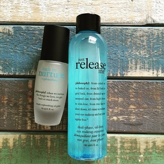 philosophy just release me dual-phase oil-free eye makeup remover uploaded by Stella L.