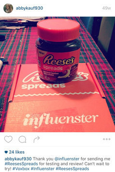 Photo of Reese's Spreads Peanut Butter Chocolate uploaded by Abby K.