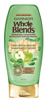 Photo of Garnier Whole Blends Green Apple & Green Tea Extracts Refreshing Conditioner uploaded by Christina T.