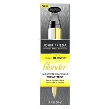 John Frieda Sheer Blonde Go Blonder In Shower Lightening Treatment uploaded by Manda D.