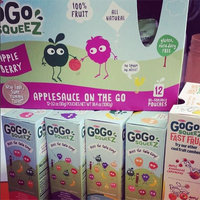 GoGo SQUEEZ APPLE PEACH APPLESAUCE ON THE GO uploaded by Sara K.