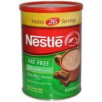 Nestlé HOT COCOA Mix Fat Free Rich Milk Chocolate Flavor 7.33 oz. Canister uploaded by Cortney B.