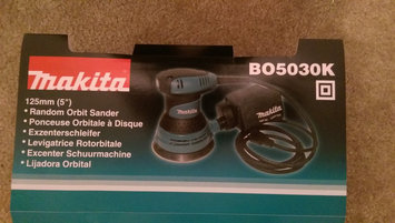 Photo of Makita BO5030K 5-Inch Random Orbit Sander [Tool with Case] uploaded by Casey K.