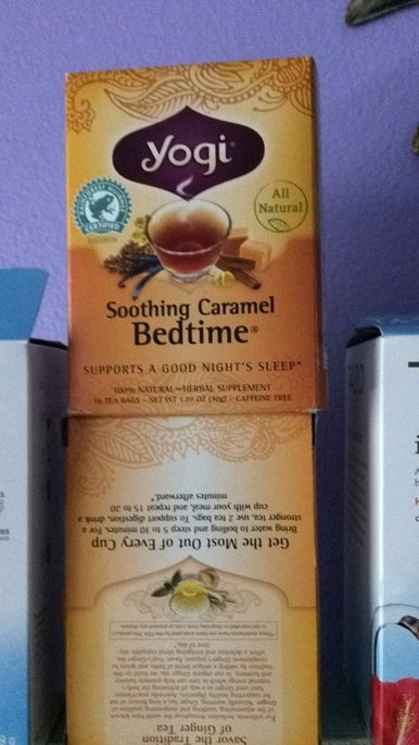 Yogi Tea Herbal Tea Soothing Caramel Bedtime uploaded by Cindy C.