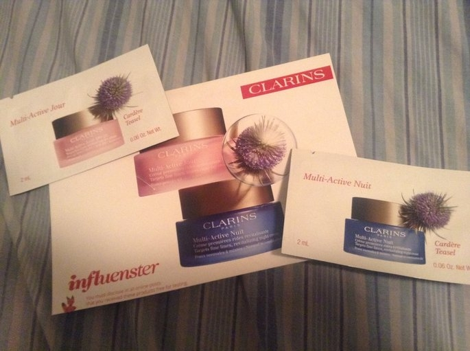 NEW Clarins Multi-Active Day & Night Creams uploaded by Laquanda B.