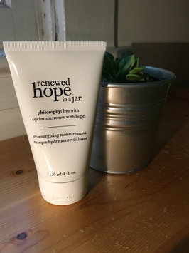 philosophy renewed hope in a jar re-energizing moisture mask, 4 oz uploaded by Grace K.