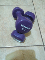 Zon Bright Pink 4 lb Dumbell (qty one) uploaded by Reaz A.