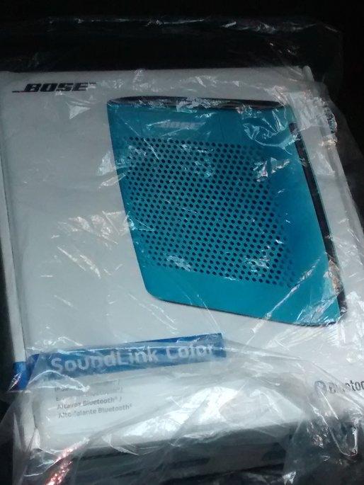 Bose SoundLink Color Bluetooth Speaker - Blue uploaded by Natasha B.