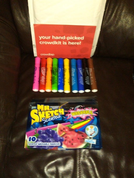 Mr. Sketch Scented Washable Markers uploaded by Bridget B.