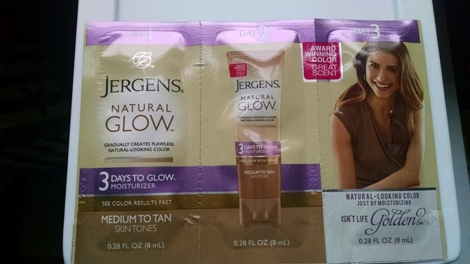 Jergens Natural Glow 3 Days to Glow Moisturizer uploaded by Jennifer E.