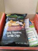Eatsmart Snacks™ Garlic Hummus Three Bean Tortilla Chips uploaded by Amy T.