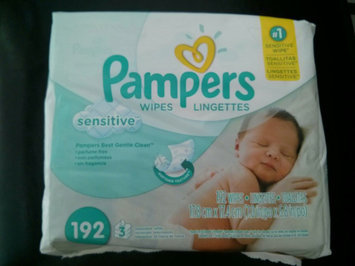Photo of Pampers Wipes Sensitive - 192 CT uploaded by kristine b.