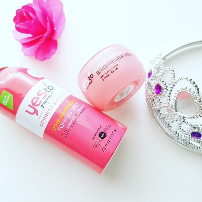 Yes to Grapefruit Pore Perfection Brightening Peel uploaded by Aaronica C.