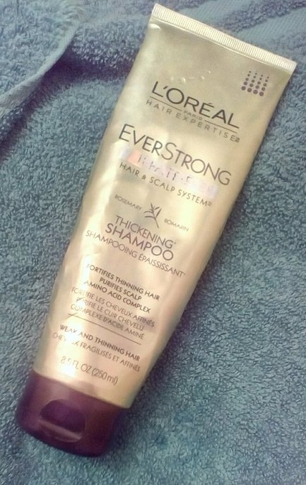 L'Oréal Paris EverStrong Thickening Shampoo uploaded by Tina H.