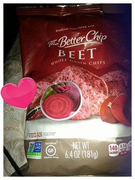 Photo of The Better Chip Beets and Sea Salt Corn Chips uploaded by Krista W.