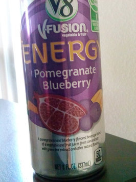 V8 Juice V8 V-Fusion Energy Pomegranate Blueberry Vegetable & Fruit Juice 8 oz, uploaded by Kate L.