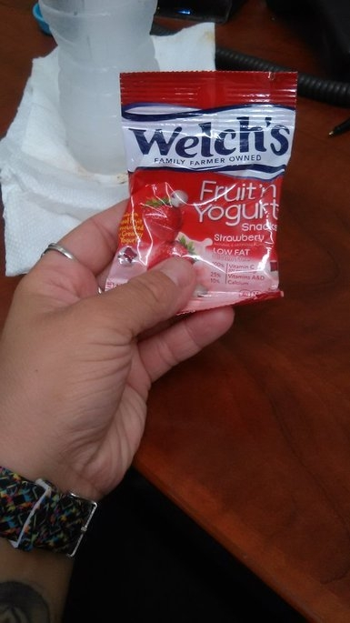 Welch's Fruit 'n Yogurt Snacks Strawberry uploaded by Bre S.