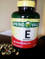 Spring Valley Vitamin E 400 I.U. D-Alpha Softgels Dietary Supplement 250 ct uploaded by Yasmin s.