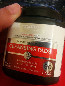 Equate Beauty Maximum Strength Cleansing Pads, 90 count uploaded by Angie C.