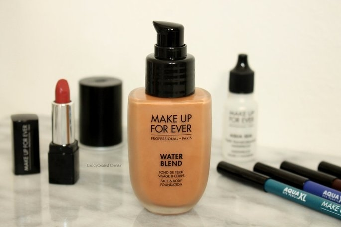 MAKE UP FOR EVER Water Blend Face & Body Foundation uploaded by Cynira C.