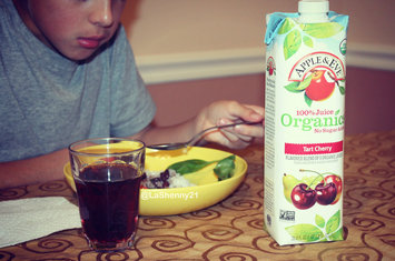 Photo of Apple & Eve® 100% Juice Organics Tart Cherry Juice 33.8 fl. oz. Carton uploaded by Jennifer S.