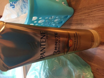 Photo of Pantene 3 Minute Miracle Smooth & Sleek Deep Conditioner uploaded by Katie H.