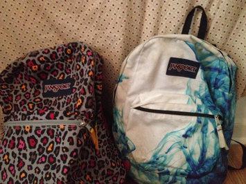 Photo of JanSport SuperBreak Backpack Blue Topaz Oh Bananas - JanSport School & Day Hiking Backpacks uploaded by Breanne R.